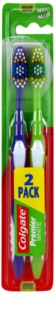 Colgate Premier White Medium Toothbrushes 2 pcs