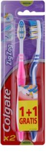 Colgate Zig Zag zobne ščetke medium 2 ks
