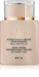 Collistar Foundation Perfect Skin tekući puder i primer SPF 15