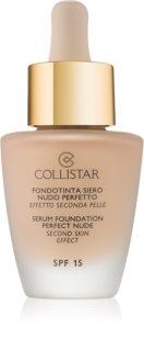Collistar Foundation Perfect Nude озаряващ фон дьо тен за естествен вид SPF 15
