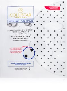 Collistar Pure Actives mască micro-magnetică cu acid hialuronic