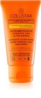 Collistar Sun Protection Sonnencreme fürs Gesicht SPF 6