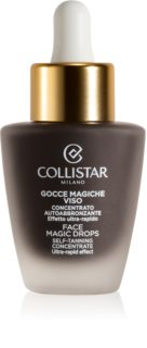 Collistar Self Tanners autobronzant concentrate pentru ten