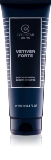 Collistar Vetiver Forte gel de ducha para hombre 250 ml