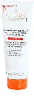 Collistar After Sun Moisturizing Restoring Body Balm in the Shower