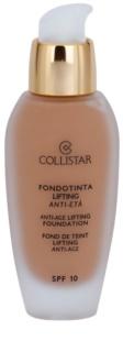Collistar Foundation Anti-Age Lifting make-up liftinges hatással SPF 10