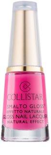 Collistar Smalto Gloss лак для нігтів з натуральним ефектом