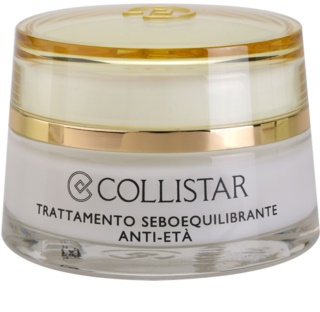 Collistar Special Combination And Oily Skins crema rejuvenecedora para regular el sebo cutáneo