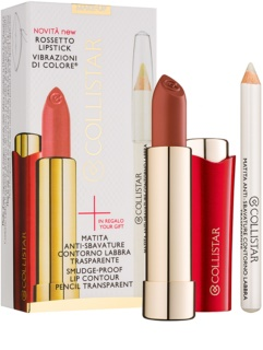 Collistar Rossetto Lipstick Cosmetic Set I.