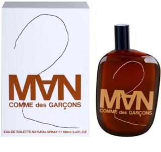 Comme Des Garcons 2 Man Eau de Toilette for Men 100 ml