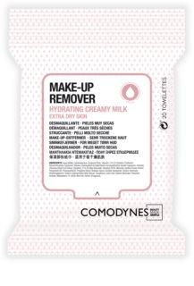 Comodynes Make-up Remover Creamy Milk robčki za odstranjevanje ličil za zelo suho kožo