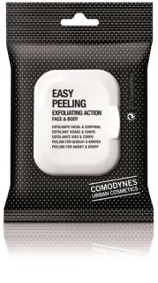 Comodynes Easy Peeling serwetki złuszczające do twarzy i ciała