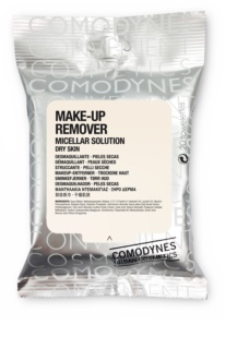 Comodynes Make-up Remover Micellar Solution Cleansing Wipes For Dry Skin