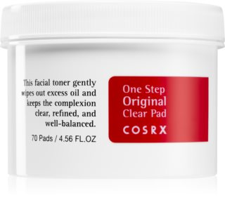 Cosrx One Step Original dischete demachiante pentru ten gras