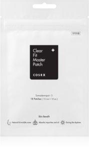 Cosrx Clear Fit Master adesivo de limpeza para pele problemática