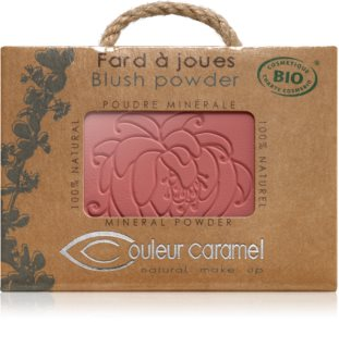 Couleur Caramel Blush Powder róż w kompakcie