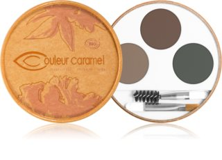 Couleur Caramel Eyebrow Kit Palette voor Wenkbrauw Make-up