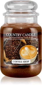 Country Candle Coffee Shop vela perfumado 652 g