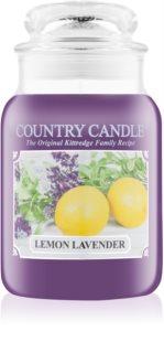 Country Candle Lemon Lavender vela perfumada