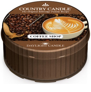 Country Candle Coffee Shop vela do chá 42 g