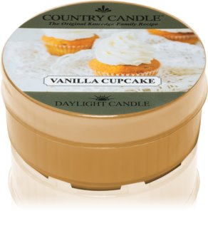 Country Candle Vanilla Cupcake vela do chá 35 g