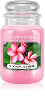 Country Candle Blooming Plumeria Scented Candle 652 g