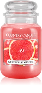 Country Candle Grapefruit Ginger illatos gyertya  652 g