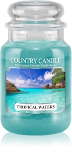 Country Candle Tropical Waters bougie parfumée 652 g