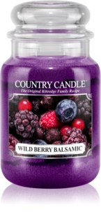 Country Candle Wild Berry Balsamic bougie parfumée 652 g