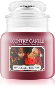 Country Candle Jingle All The Way dišeča sveča