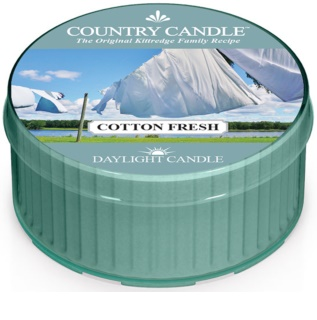 Country Candle Cotton Fresh čajna svijeća 42 g
