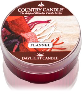 Country Candle Flannel vela do chá