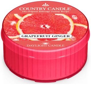 Country Candle Grapefruit Ginger vela do chá 42 g