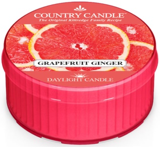 Country Candle Grapefruit Ginger vela do chá 42 g