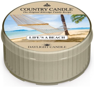 Country Candle Life's a Beach vela do chá 42 g