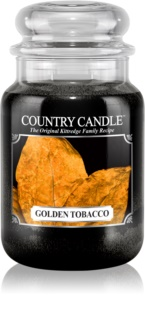 Country Candle Golden Tobacco αρωματικό κερί