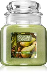 Country Candle Anjou & Allspice vela perfumada intermédio