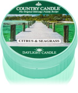 Country Candle Citrus & Seagrass świeczka typu tealight 42 g