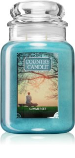Country Candle Summerset vela perfumada  652 g grande