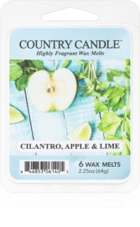 Country Candle Cilantro, Apple & Lime vosk do aromalampy