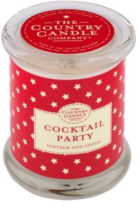 Country Candle Cocktail Party lumanari parfumate    în sticlă cu capac