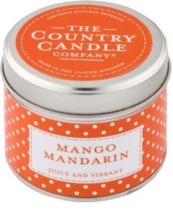 Country Candle Mango Mandarin lumanari parfumate    în placă