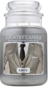 Country Candle Grey vonná sviečka 652 g