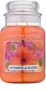 Country Candle Sunshine & Daisies dišeča sveča