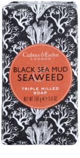 Crabtree & Evelyn Black Sea Mud & Seaweed luxusní mýdlo s mořskými řašami a bahnem