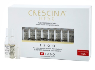 Crescina HFSC 1300 Re-Growth Anti-Hair Loss Treatment in Ampoules For Men