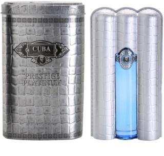 Cuba Prestige Platinum Eau de Toilette para homens 90 ml