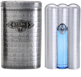 Cuba Prestige Platinum Eau de Toilette for Men 90 ml