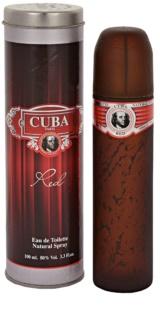 Cuba Red toaletní voda pro muže 100 ml