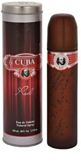 Cuba Red eau de toilette per uomo 100 ml